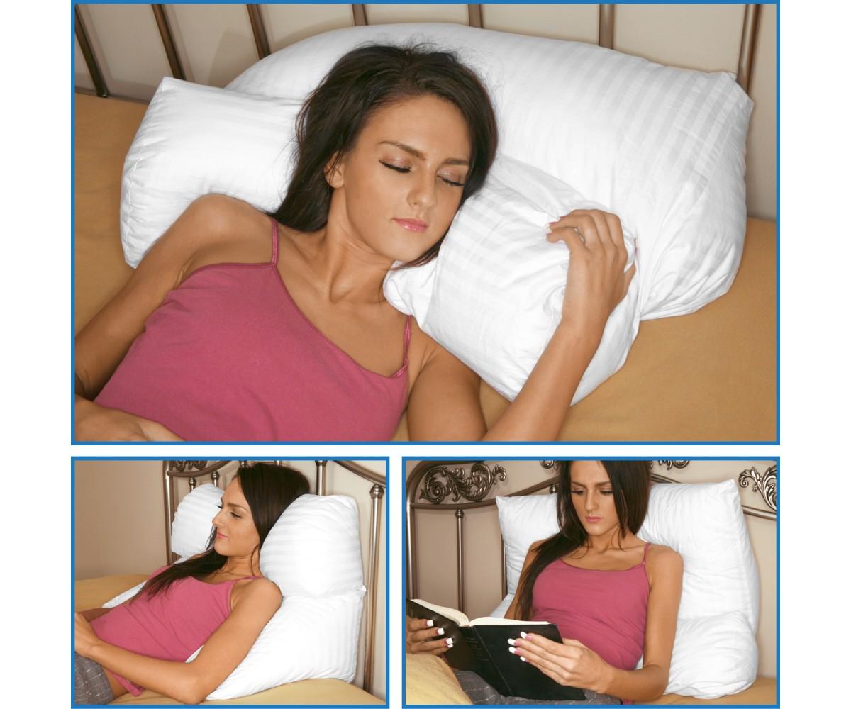 Multi Position Pillow White