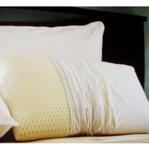 Restful Nights Natural Latex Foam Pillow - Set of 2 Pillows - King