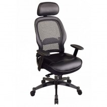 Professional Black Breathable Mesh Back Chair