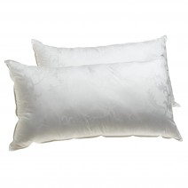 Deluxe Comfort Dream Supreme, King - Cooling Gel Fiber Fill - Hotel Quality - Luxury - Bed Pillow, White - Pack of 2