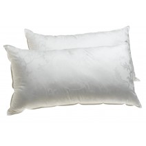 Deluxe Comfort Dream Supreme, Standard - Cooling Gel Fiber Fill - Hotel Quality - Luxury - Bed Pillow, White - Pack of 2