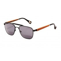 Robert Graham Redford Sunglasses Black Grey