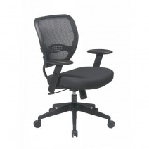 Professional AirGrid Back Managers Chair, Custom R Fabric