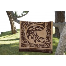 Bill Helin Printed Velura Throw - Eagle