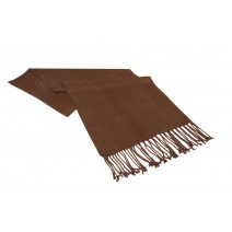 Bamboo Scarf - Natural Chocolate