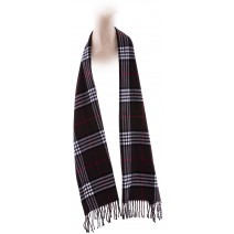 Cashmere Feel Plaid Scarves(New England Plaid) - Brown