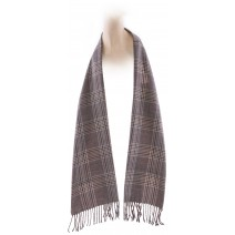 Cashmere Feel Plaid Scarves(New England Plaid) - Brown/Green