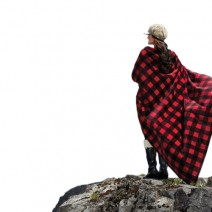 The Cabin Throw - Buffalo Check Red/Black