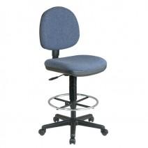 Lumbar Support Drafting Chair, Custom A Grade Fabric