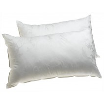 Deluxe Comfort Dream Supreme, Queen - Gel Fiber Fill - Hotel Quality - Luxury - Bed Pillow, White - Single