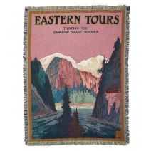 Eastern Tours Cotton Throw