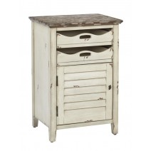 Charlotte Chair Side Table in Country Cottage Finish