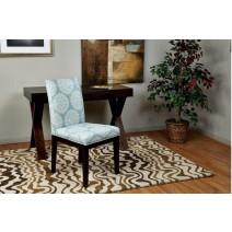 Dakota Parsons Chair in Gabrielle Sky Fabric