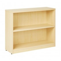 "2-Shelf Bookcase with 1"" Thick Shelves - Maple"