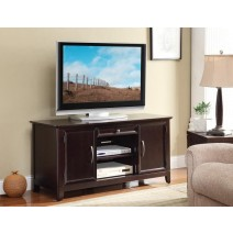"54"" Claremont TV Stand in Espresso Finish"