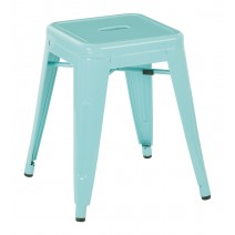 "Patterson 18"" Metal Backless Stool"