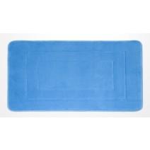 Microfiber Absorbing Bath Mat - Blue