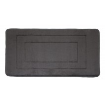 Microfiber Absorbing Bath Mat - Grey
