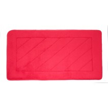 Microfiber Absorbing Bath Mat - Red
