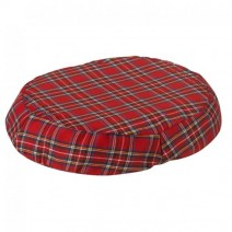 "BetterHealth Ring Cushion 16"" Plaid Cover"