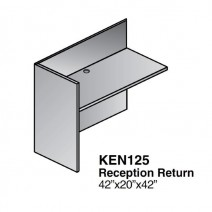 Kenwood Reception Return Shell 48 x 24, Light Cherry