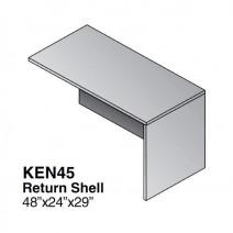 Kenwood Return Shell, 48 x 24, Light Cherry