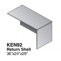 Kenwood Return Shell, 36 x 24, Light Cherry