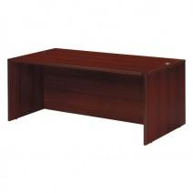 Napa Desk Shell 71 x 36, Mahogany