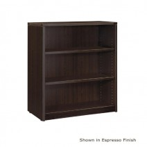 "Napa 3-Shelf Bookcase 36"" x 14"" x 42"", Urban Walnut"