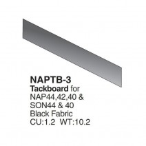Napa Tackboard, Black for use with NAP 41/42/44, SON44, KEN41/42/44