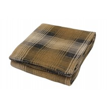 The Cabin Throw - Gray Plaid