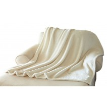 Plushera Throw - Vanilla White