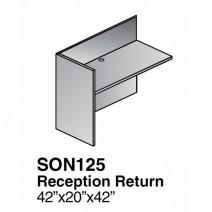 Sonoma Reception Return Shell 42 x 20, Dark Cherry