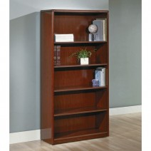 "Sonoma 5-Shelf Bookcase, 70""H, Dark Cherry"