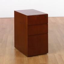 Sonoma Bo x /Bo x /File Desk Pedestal, Dark Cherry