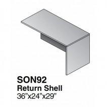 Sonoma Return Shell, 36 x 24, Dark Cherry