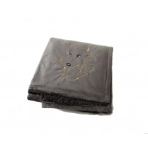 Signature Series Urban Classic Throw - Charcoal w/ Wolf