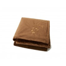 Signature Series Urban Classic Throw - Chocolate w/Angry Bear