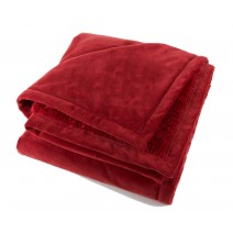The Urban Alpaca Home Throw - Firebrick Red