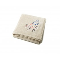 Signature Series Urban Classic Throw - Ecru w/ Dogsled