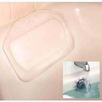 Bath Pillow with free Deep Water Bath - bath Pillow Strong Suction Cups