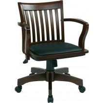 Deluxe Wood Banker's Chair